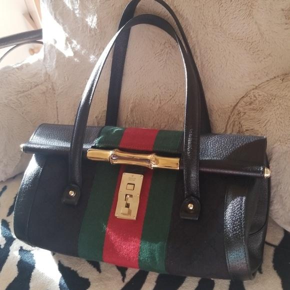 55005fdc34bcd7 Gucci Bags | Bamboo Bullet Bag | Poshmark